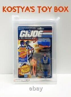 GI Joe SNAKE EYES 1991 MOC Hasbro Vintage AFA Graded 85 Action Figure