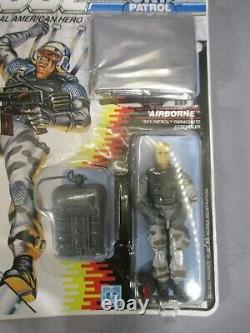 GI Joe Sky Patrol AIRBORNE Action Figure Factory Sealed 1989 Hasbro