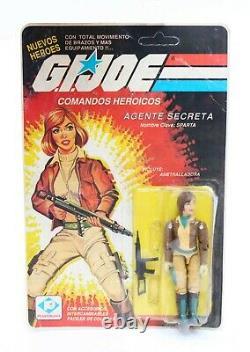 GI Joe Vintage Cover Girl Sparta MOC Plastirama Argentina