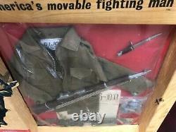 GI Joe Vintage Extremley Rare Combat Window Box With The Super Rare Cloth Ammo B