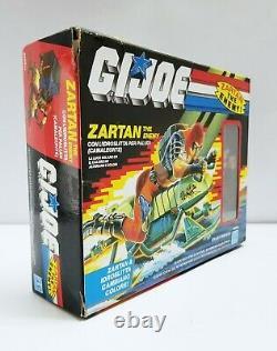 GI Joe ZARTAN 1984 MIB Italian Vintage New Factory Sealed Figure & Swamp Skier
