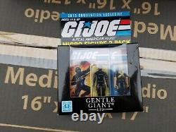 Gentle Giant SDCC 2015 Exclusive GI Joe Jumbo GRUNT + Micro Figure 2 Pack RARE