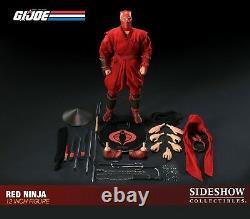 Gi Joe 1/6 Sideshow Collectibles Cobra Red Ninja