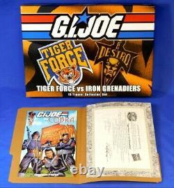 Gi Joe 2015 Joecon Figure Set Tiger Force Vs Iron Grenadiers New