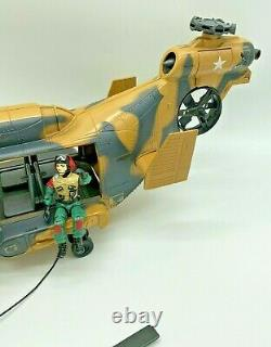 Gi Joe Action Force Tomahawk, Helicopter, 1980s, Lift Ticket, Complete