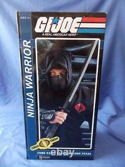 Gi Joe Black Dragon Ninja Warrior 16 Scale Action Figure Sideshow Collectibles