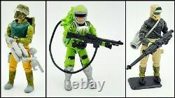 Gi joe action force figures job lot Bundle some complete + snow cat vehicle