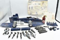 Ground Attack Jet Cobra Rattler COMPLETE WithBox GI Joe 1984 Action Vehicle Hasbro