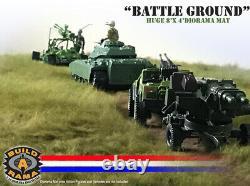 HUGE Diorama Battlefield Mat 8'x4' for G. I. Joe Action Figures arah 25th 118
