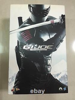 Hot Toys MMS 192 G. I. Joe Retaliation Snake Eyes Military Ninja Figure NEW