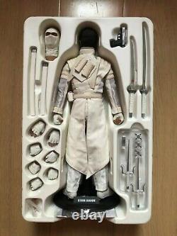 Hot Toys MMS 193 G. I. Joe Retaliation Storm Shadow Lee Byung Hun White Ninja USE
