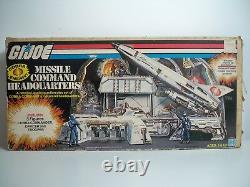 K1877708 Missile Command Headquarters W Box Gi Joe Cobra 1982 Sears Vintage