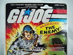 K20 Major Bludd Moc Mint On Sealed Card 20 Back Gi Joe 1983 Original Vintage