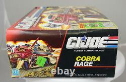 MVT Hasbro GI Joe Cobra RAGE, NEW, Sealed in Original Box