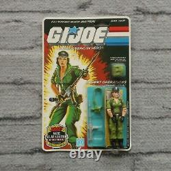 New Vintage GI Joe Lady Jaye Sealed On Card 1983 1985 MOC Hasbro