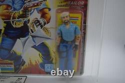 New Vintage Hasbro GI Joe Shipwreck Action Figure 1985 Graded AFA 85 85/85/90