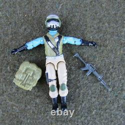 RARE! GI Joe 1987 STEEL BRIGADE Mail Away with Crosscut Back Pack & Gun MINT