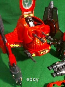 ROBOSKULL Vintage Action Force G I Joe Robo Skull + pilot