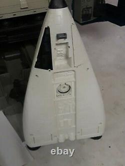Rare Gi Joe Space Shuttle complex Defiant with payload Parts launch platform