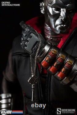 Sideshow Collectibles Destro Exclusive GI JOE Enemy Weapon Supplier Cobra