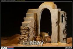 Sideshow GI JOE 1/6 Scale DESERT WEAPONS CACHE with SANDSTORM Diorama LE275 NIB