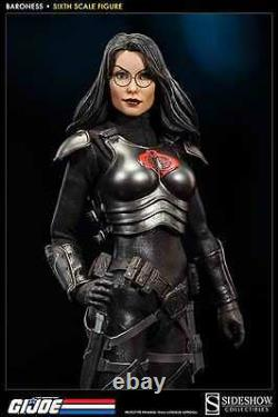 Sideshow Gi Joe Cobra Assassin Baroness Inteligence Officer 1/6 Scale Figure New