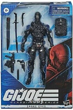 Snake Eyes Action Figure, Joe Classified Series 6-Inch, IN HAND From USA