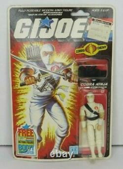 Storm Shadow V1 1984 GI JOE COBRA Vintage Sealed Original #2