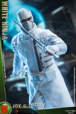 TWTOYS 1/12 TW2141 White NINJA JOE. G. I Soldier Action Figure Doll Toy