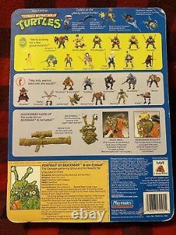 Teenage Mutant Ninja Turtles TMNT Muckman Joe E 1990 Playmates Action Figure NIB