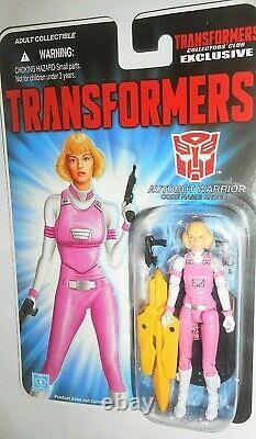 Transformers Gi joe ARCEE only human collectors club generation one 1 g1