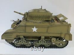 Ultimate Soldier 21st Century 1/6 Scale WWII M5 Stuart RC Tank