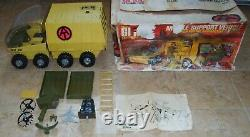 VINTAGE 1972 HASBRO G. I. JOE ADVENTURE TEAM MOBILE SUPPORT VEHICLE CLEAN WithBOX