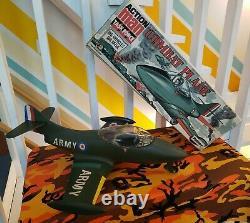 VINTAGE PALITOY ACTION MAN COMBAT PLANE gi joe panther Jet