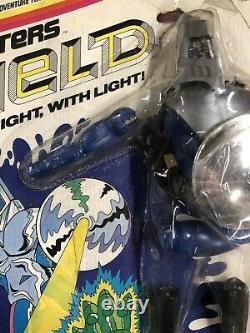 VTG 1970s Hasbro Super Joe THE SHIELD Night Fighters Figure MOC Gi Joe Figures