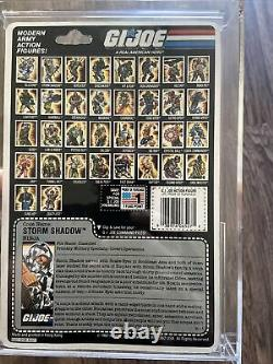 Very Nice GI Joe Vintage 1988 Storm Shadow v2 MOC look