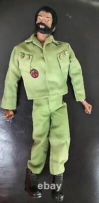 Vintage 12 Gi Joe Adventure Team Talking Commander Black Action Figure 1964