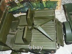Vintage 1964 G. I. Joe Official Combat Jeep Set withOriginal Box Complete NICE
