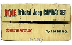 Vintage 1965 GI Joe Official Moto-Rev Combat Jeep withRare As Seen on TV Box Works