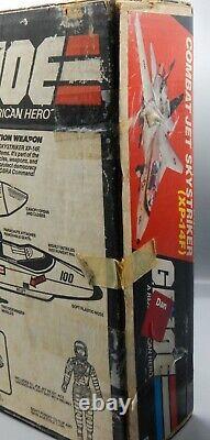 Vintage 1983 Hasbro GI Joe SKYSTRIKER Jet COMPLETE Vehicle with BOX ARAH Toy G. I