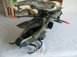 Vintage 1990 Hasbro Gi Joe Retaliator Helicopter with Updraft Figure & Box #6339