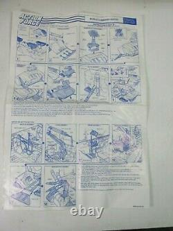 Vintage ACTION FORCE GI JOE MOBILE COMMAND CENTRE VEHICLE FIGURE original HASBRO