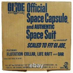 Vintage GI Joe Sears Space Capsule withAstronaut Flotation Unused withInserts & Box
