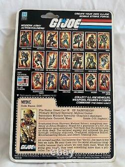 Vintage Hasbro GI Joe 1983 Doc Medic MOC
