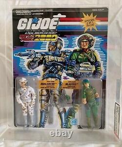 Vintage Hasbro GI Joe 1987 Battle Force 2000 Avalanche & Blaster MOC AFA U90