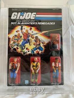 Vintage Hasbro GI Joe 1987 Sgt. Slaughter's Renegades 3-Pack MOC