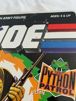 Vintage Hasbro GI Joe 1989 Python Patrol Cobra Officer Unpunched MOC
