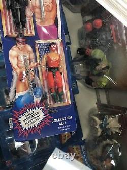 Vintage REMCO AAWF All American Wrestling Federation GI Joe Figures CARDED Set