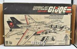 XP-14F Combat Jet Skystriker Complete With Box GI Joe 1983 Vehicle Hasbro